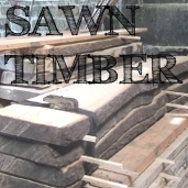 sawn timber block